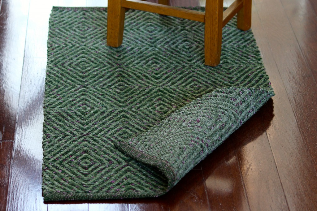Diamond Twill Rag Rug