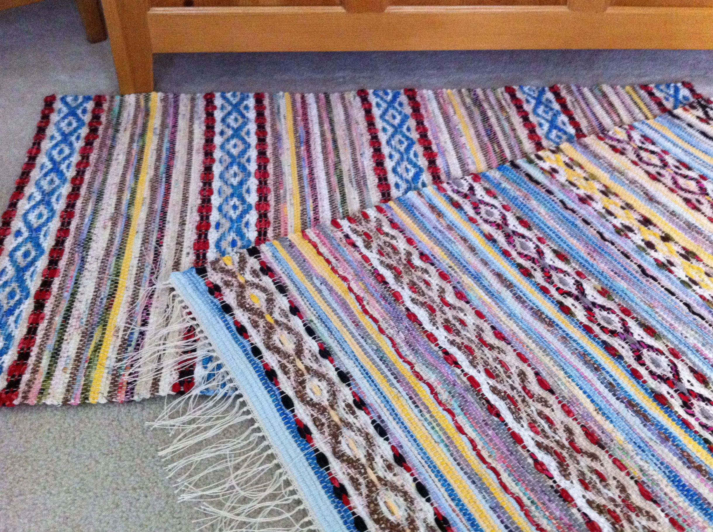 Quiet Friday Rag Rugs Warped For Good