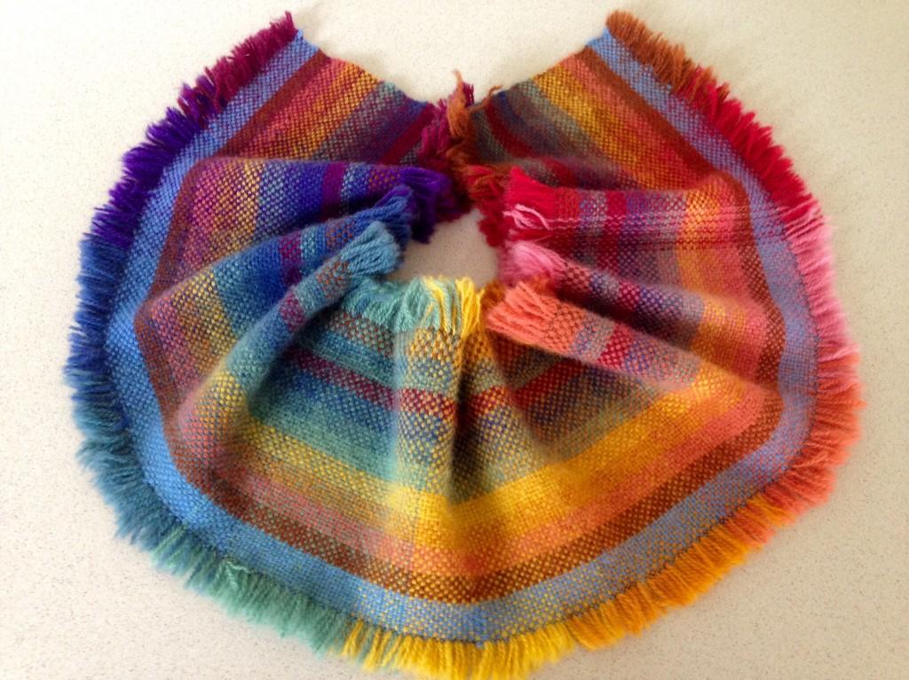 Brushed double weave blanket sample. Karen Isenhower