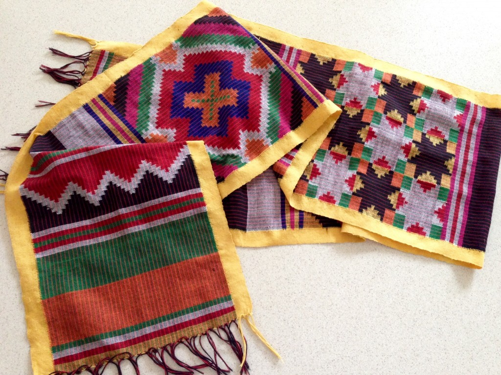 Example of backstrap weaving from Mindanao, Philippines.