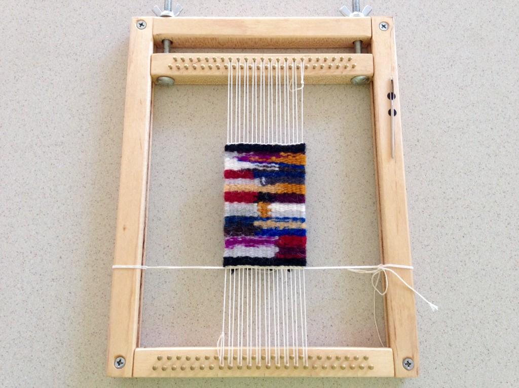 Mini tapestry sampler.