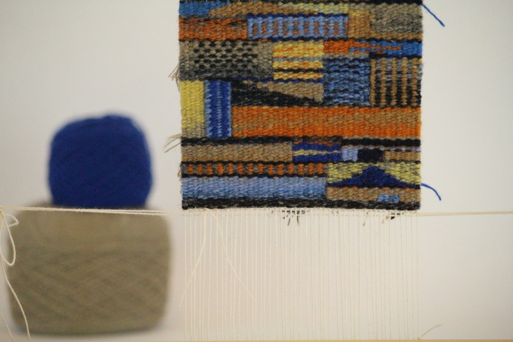 Small tapestry diary. Karen Isenhower