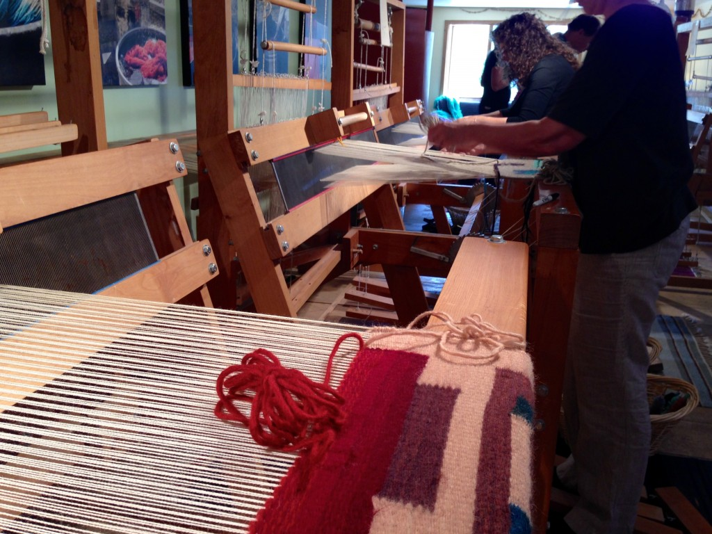 Weaving Southwest class.