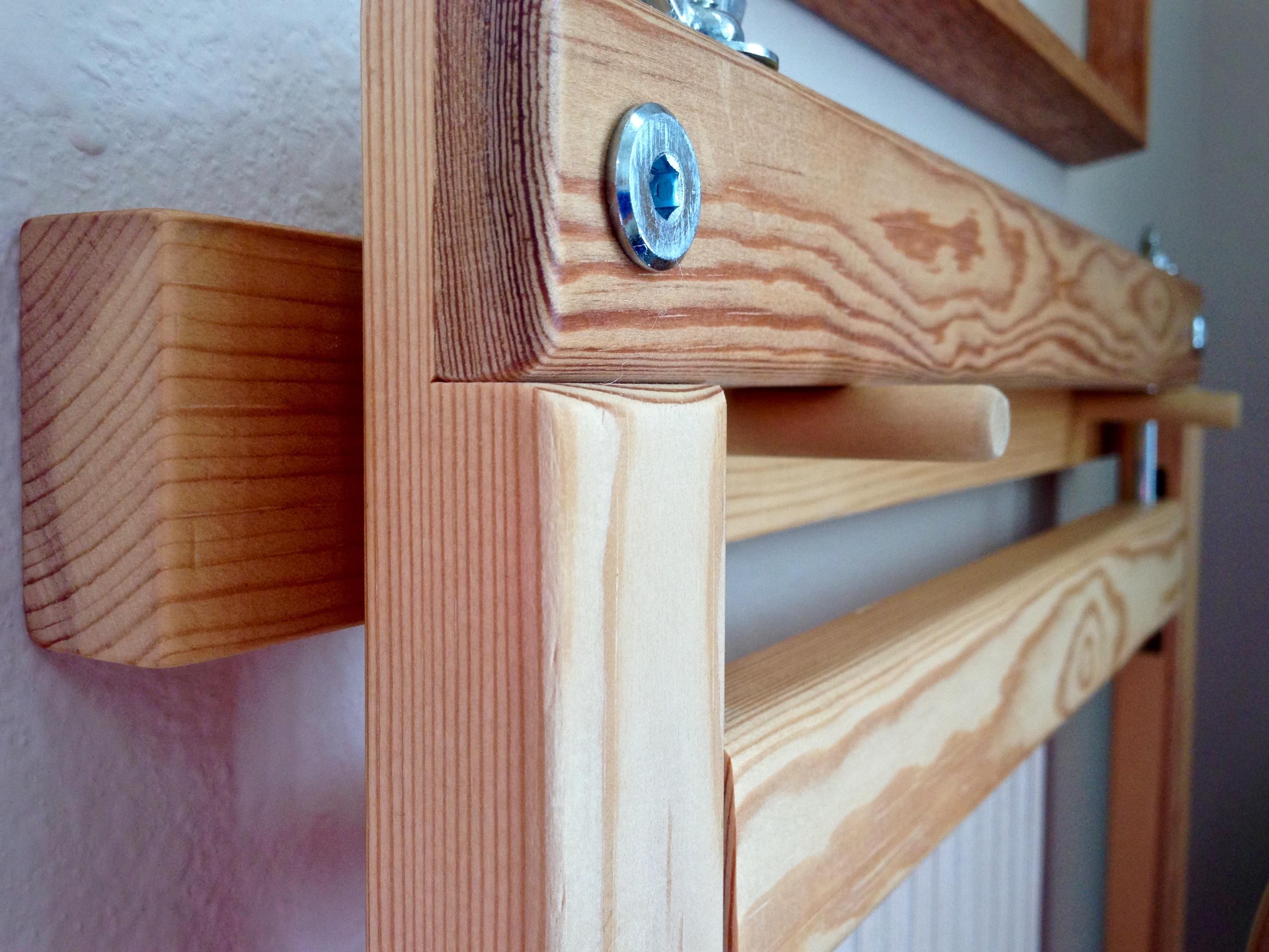 Pine Holder For Small Freja Tapestry Frame.