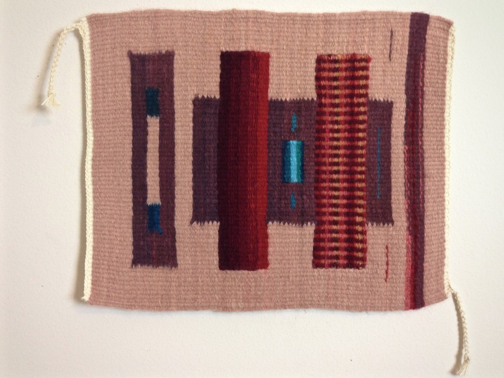Study in verticals from class at Weaving Southwest in NM.