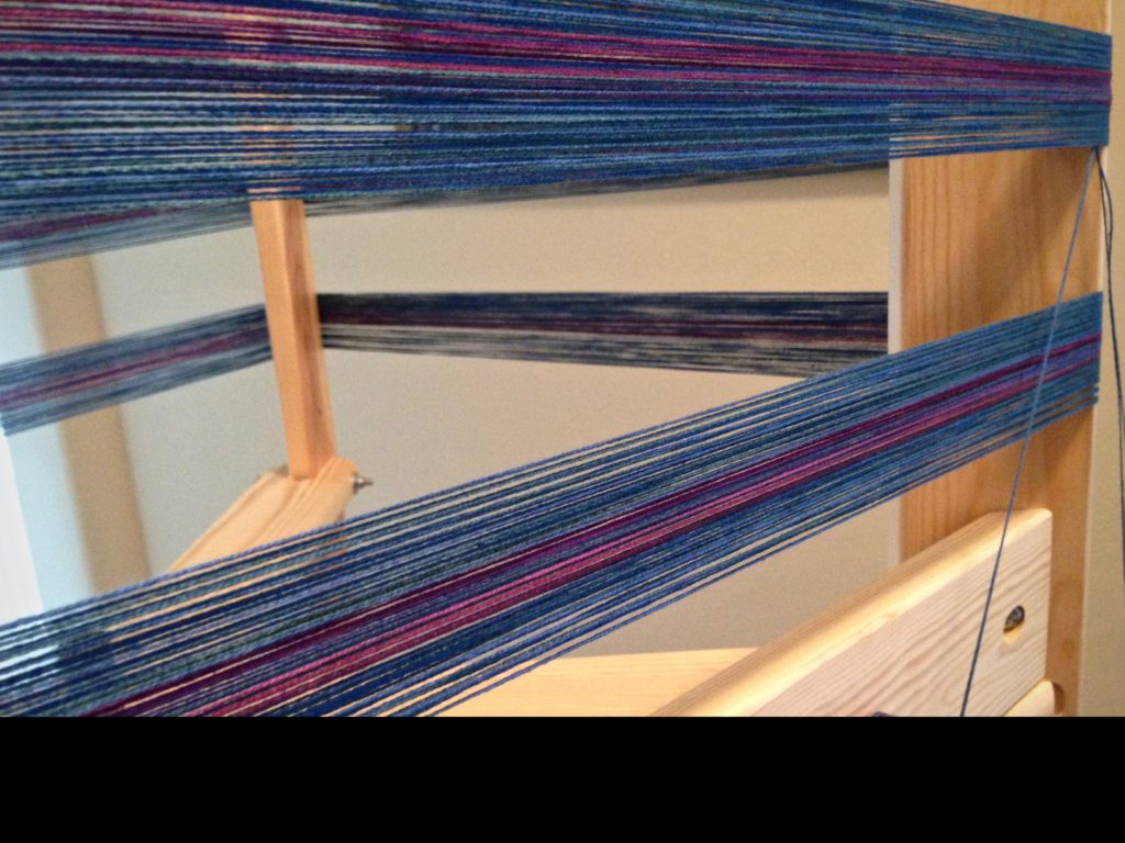 Warp for woven baby wrap!