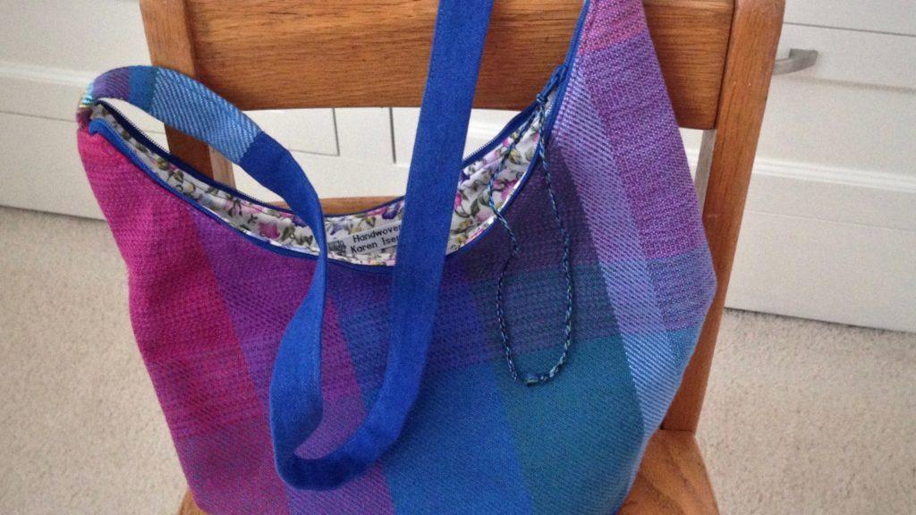 Handwoven handbag. Karen Isenhower