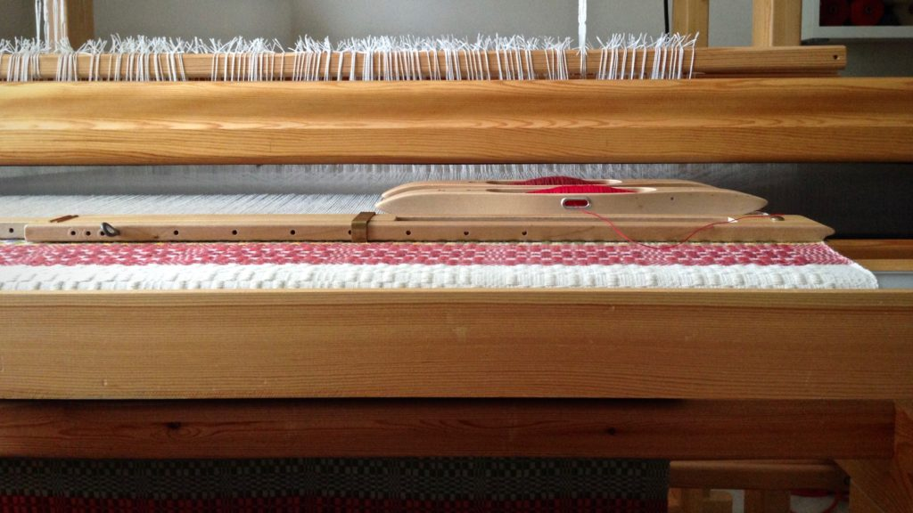 Monksbelt on the Glimakra Standard loom.