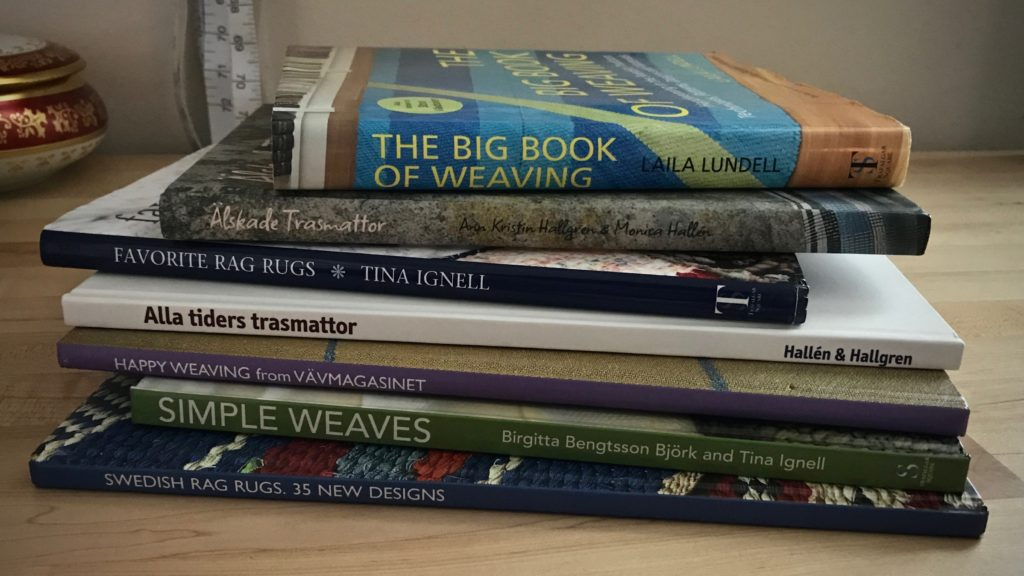 Some of my favorite weaving books!