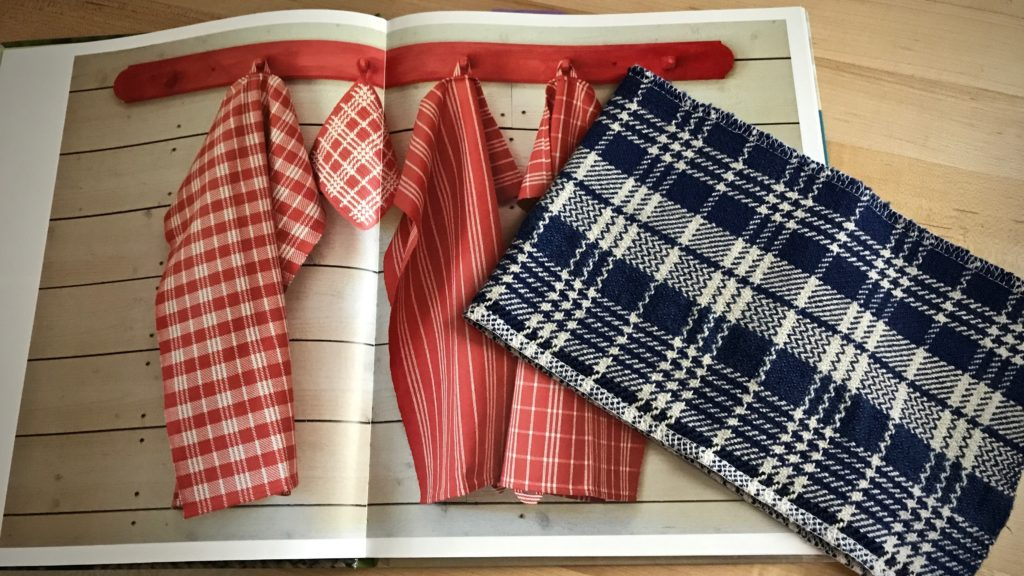"Classic twill towels, from ""Simple Weaves,"" by Björk and Ignell"