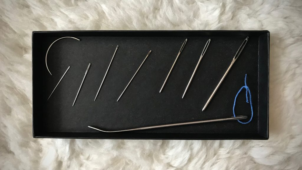 The 9 needles I use most for handweaving.