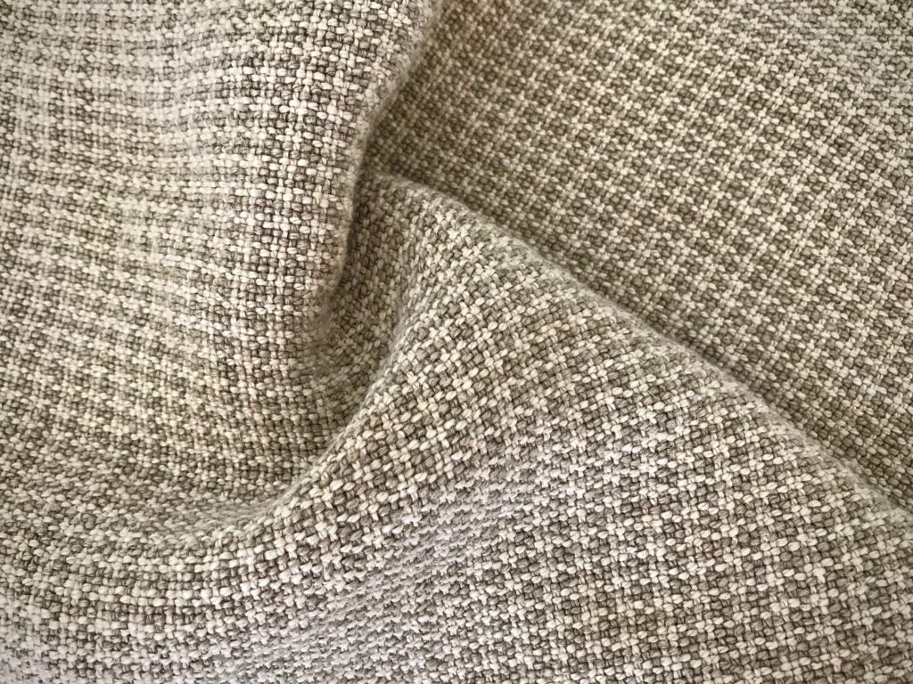 New handwoven linen fabric just washed.