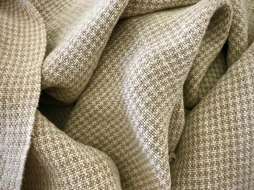 Custom handwoven linen upholstery fabric!