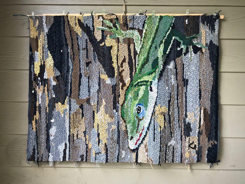 Lizard Tapestry.