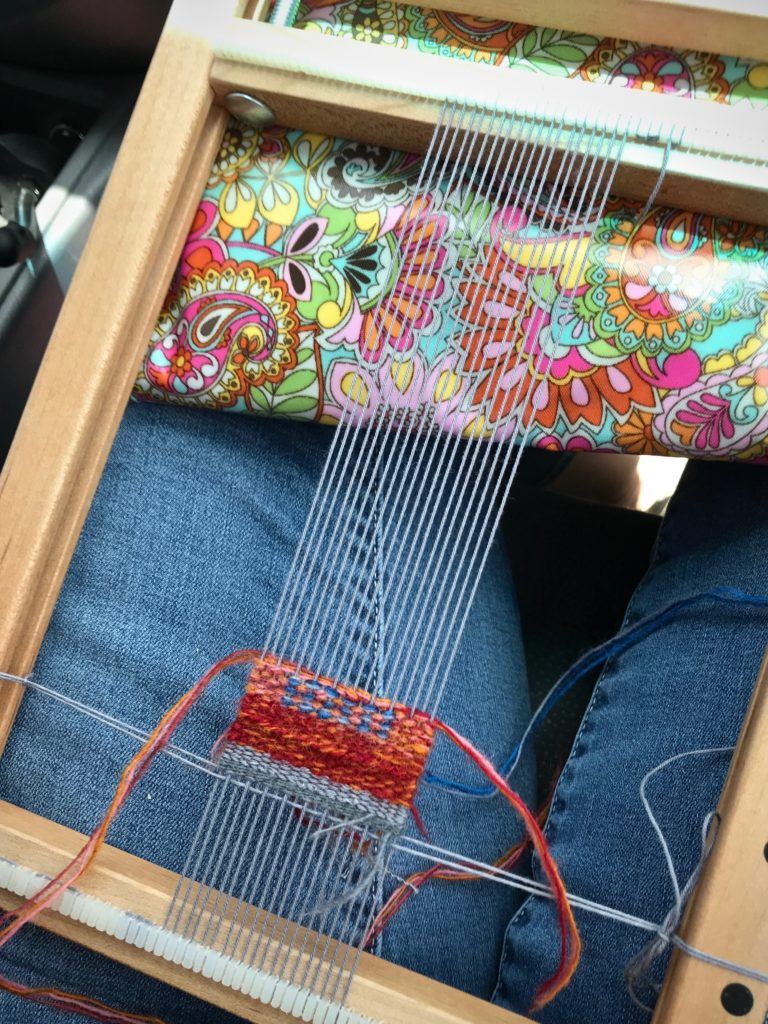 Car-ride weaving.